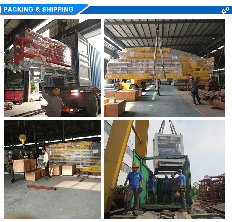 Block Machine Packing